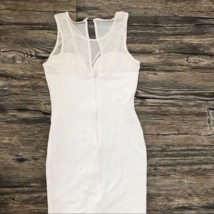 Guess Dresses - White Mesh Detail Guess Body Con Dress Easter